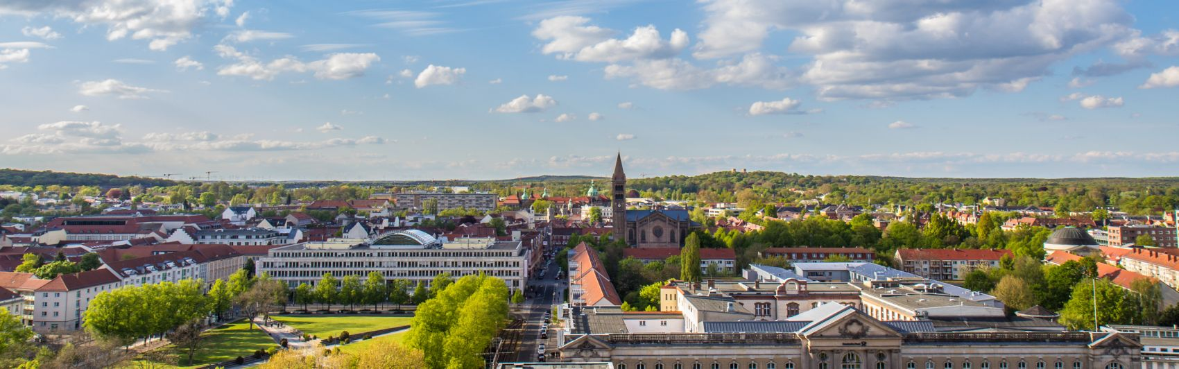Landeshauptstadt Potsdam, Skyline
