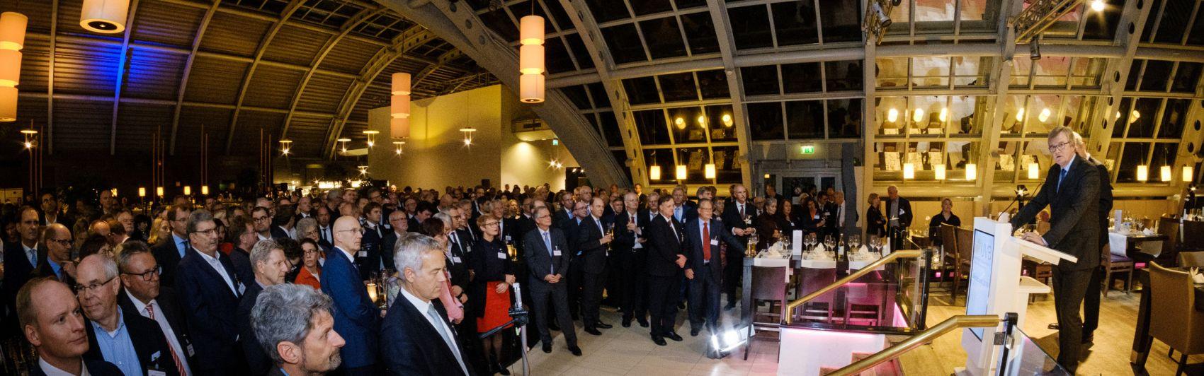 UVB-Bierabend, Büchner, Eröffnung, Jahresempfang