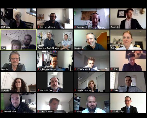 Videokonferenz Digitalforum Führen 2020