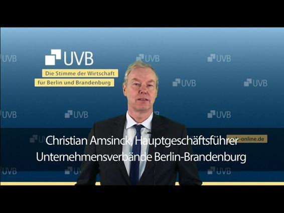 Christian Amsinck zur Berlinwahl 2021